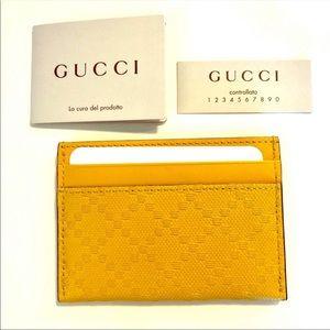 COPY - NEW Gucci card case (unused)